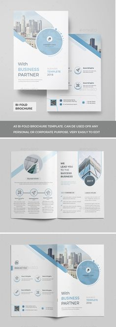 Buy Corporate Brochure by Mister-Templater on GraphicRiver. Corporate Bi-Fold Brochure This layout is suitable for any project purpose. Very easy to use and customise. Travel Brochure Design, Corporate Brochure Design, Travel Brochure Template, Bi Fold Brochure, Creative Brochure, Brochure Layout, Corporate Flyer, Company Brochure Design, Poster Design