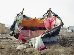 """Insecurities. Tracing Displacement and Shelter"" has opened on 1st October at the MoMA The Museum of Modern Art​ in New York. The exhibition explores the refugee crisis: the same theme of the event ""One Night"" (13 October - FAB Architectural Bureau​ Milan) #Architecture #Art #MoMA #NY #Design PH MoMA"