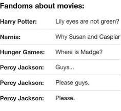 Percy Jackson...