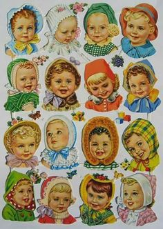 victorian scraps - cute babies Images Vintage, Vintage Pictures, Vintage Greeting Cards, Vintage Postcards, Pipe Cleaner Crafts, Pipe Cleaners, Chenille Crafts, Paper Art, Paper Crafts