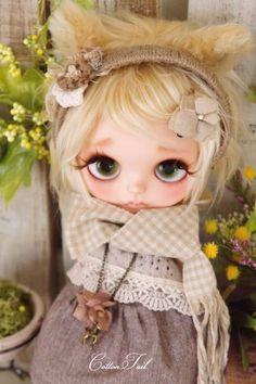 ◆ Cotton Tail ◆ kitten custom Blythe Admin of Hidamari - Auction - Rinkya! Japan Auction & Shopping
