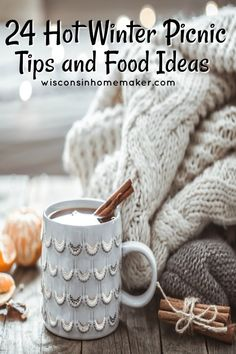 Dining al fresco in winter is easy with these simple how-to winter picnic tips and food ideas to keep one and all warm and cozy. Picnic Snacks, Picnic Dinner, Fall Picnic, Picnic Foods, Picnic Recipes, Winter Party Foods, Winter Parties, Winter Food, Outdoor Party Foods
