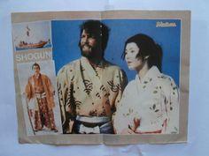 Shogun Mini Poster from Greek Magazines clippings 1970s 1990s | eBay