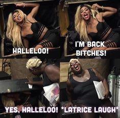 Latrice Royale and Shangela Laquifa Wadley Look Girl, My Girl, Rupauls Drag Race Funny, Shangela Laquifa Wadley, Rupauls Dragrace, Gloria Groove, Rupaul Drag Queen, Trixie And Katya, Alyssa Edwards