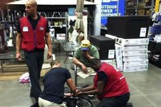 Lowe's Employees Decided To Fix This Veteran's Wheelchair After The VA Wouldn't
