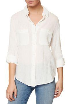 Uniform for Summer Momming    Main Image - Sanctuary The Steady Boyfriend Shirt