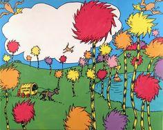 Truffula trees, The Lorax, Dr. Dr. Seuss, Dr Seuss Lorax, Lorax Trees, Truffula Trees, Art Prints Quotes, Art Quotes, Quote Art, Inspirational Quotes, The Lorax Book