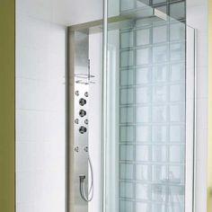 Colonne de douche hydromassante sensea modern blanc 219 et pour ma salle de bain pinterest - Colonnes de douches hydromassantes ...