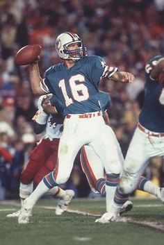David Woodley is arguably the most versatile quarterback in Dolphins history, and his 27-12 record as a starter speaks for itself.