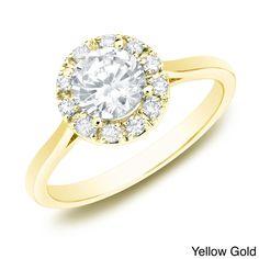 The Astoria by Auriya 14k Gold 1/2ct TDW Diamond Ring