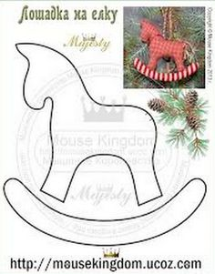 Excellent Photo craft Sewing ideas Concepts 49 Ideas For Sewing Christmas Crafts Templates Christmas Sewing, Handmade Christmas, Christmas Crafts, Christmas Ornament Template, Christmas Templates, Felt Christmas Decorations, Felt Christmas Ornaments, Christmas Projects, Holiday Crafts