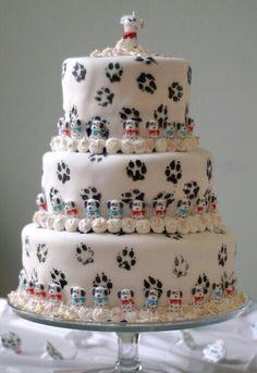 This one is for @Natasha Prior - Happy Birthday!!!!! My virtual Dalmatian cake for you! Xxxxxx