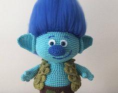 Classic Troll Amigurumi Crochet Pattern