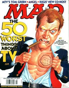 Cover for MAD (EC 1952 serie) #396 - AUGUST 2000