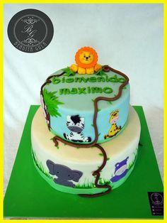 Torta selva baby shower