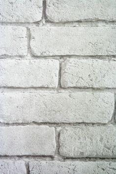 Koziel white brick wallpaper, for rockettstgeorge.co.uk