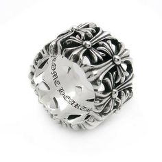 c2369d32a60c Chrome Hearts Ring Cemetery Engraved Rings