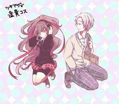 Azami & Tsukihiko | Kagerou Project