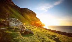 Sonnenuntergang, Talisker Bay, Schottland, Isle of Skye, Julia Neubauer Fotografie