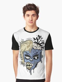 Sell Your Art, Neck T Shirt, Vivid Colors, Female Models, Shirt Designs, Sleeves, Prints, Cotton, Mens Tops
