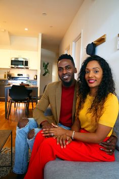 After a long-distance courtship, a couple decides on co-living to avoid the costs and difficulties of setting up their own apartment in Brooklyn.