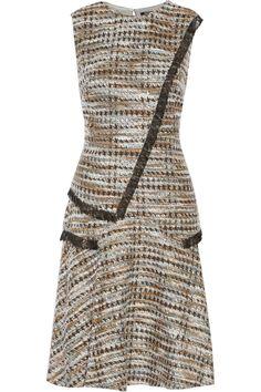 Ellery fringed metallic tweed dress | Raoul | UK | THE OUTNET