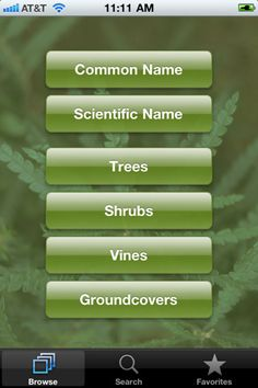 Dirr's Tree and Shrub Finder iPhone Ap  By Timber Press, Inc. is a plant database offering reliable and up to date information on woody landscape plants. Based on the classic: The Manual of Woody Landscape Plants by Michael Dirr. via popularmechanics #Gardening #Landscape_Plants #Dirrs_Tree_and_Shrub_Finder #popularmechanics #iPhone_Ap