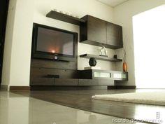 Next image >> Modern Entertainment Center, Living Room Decor, Bedroom Decor, Cozy Furniture, Home Tv, Wooden Decor, My Escape, My Dream Home, House Design