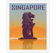 3f9d21c37f3b 40 Best Singapore vintage posters images   Vintage travel posters ...