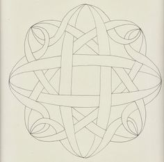 Studio ML: Zendala Dare #74 turned into a knotwork string