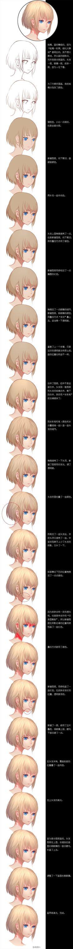 步骤图 by 稀泥m on Weibo