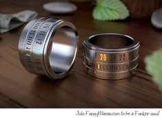 Futuristic ring watch...