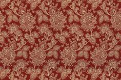 Calico Corners - Garran Gardens - Robert Allen Fabrics - Rhubarb