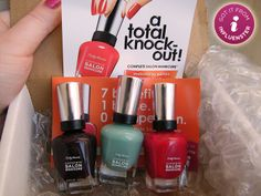 My VoxBox for the Sally Hansen Complete Salon Manicure Total Knock Out VoxBox from Influenster
