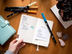 How to set up your bullet journal