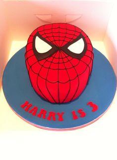 Spider Man Cake #houseofcakesessex