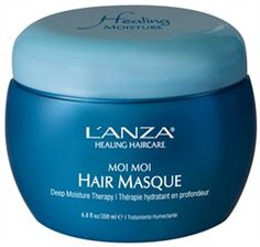 Lanza Healing Moisture Moi Moi Hair Masque Włosy This is fantastic for the dry climate! Hair Lotion, Hair Masque, Hair Issues, Moisturize Hair, Simple Makeup, Natural Makeup, Everyday Makeup, Dry Hair, Skin Treatments