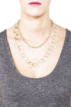 #chic gold #statement Necklaces – Mabel & Zora