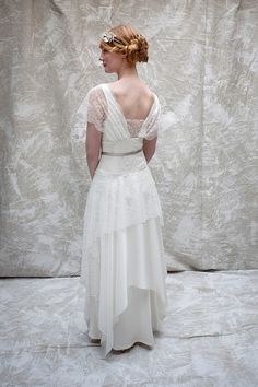 Sally Lacock ~ Vintage Inpsired Wedding Dresses For The Modern Day Bride. http://www.sallylacock.com/