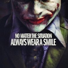 The Joker - Heath Ledger Quotes Best Joker Quotes. The Joker - Heath Ledger Quotes. Why So serious Quotes. Batman Joker Quotes, Joker Qoutes, Best Joker Quotes, Badass Quotes, Joker Joker, Joker Art, Smile Quotes, Attitude Quotes, Keep Smiling Quotes