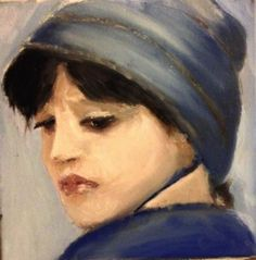 Girl in the Blue Hat by Tony Bartley