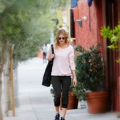 Gifts for the Active Mom| Pink & Black active city style | lucy activewear