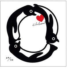 坂崎千春「ペンギンアルファベット」[O] / penguin alphabet on ShopStyle