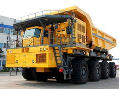 ✖☆✖The Largest Chinese Mining Truck - Huge Truck, Big Rig Trucks, Heavy Truck, Dump Trucks, Heavy Construction Equipment, Construction Machines, Heavy Equipment, Excavation Equipment, Benne
