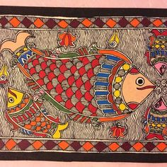 Madhubani Art, Madhubani Painting, Art Sketches, Art Drawings, Indian Independence Day, India Art, Kantha Stitch, Tribal Art, Painting Techniques