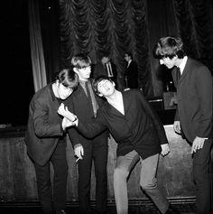 The Beatles November 1963 John Lennon Ringo Starr Paul McCartney and George Harrison in Plymouth