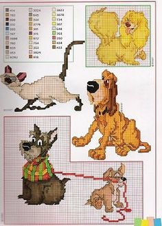 Disney Cross Stitch - Lady & the Tramp