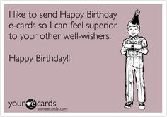 happy birthday funny ecards - Google Search