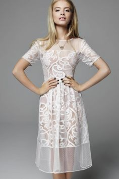 Miss Selfridge look book - click through to see the full spring/summer 2015 collection....Emma's new party dress!