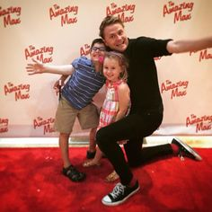 """We had a magical time at """"The Amazing Max"""" this afternoon! Playing weekends at the Theater at Blessed Sacrament thru 8/25! #theamazingmax #mackid"""